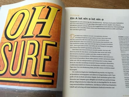 Einleitung aus dem Handbuch Handlettering von Chris Campe, Haupt-Verlag 2017. Foto: Janne Klöpper